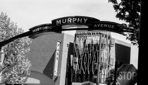 Historic Murphy Street in Sunnyvale