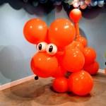 Ballooniverse created by Addi Somekh at the Santa Cruz Museum of Art and History