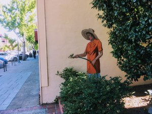 Mural by Greg Brown in Palo Alto