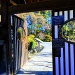 Entrance to the Japanese Garden in San Mateo
