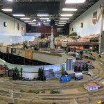 Model train at the South Bay Historical Railroad Society, Santa Clara