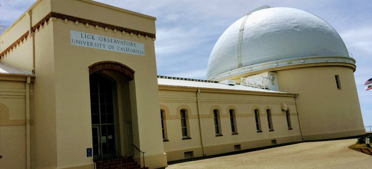Make the climb to Lick Observatory