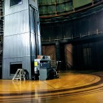 hydraulic propelled moveable floor, Lick Observatory
