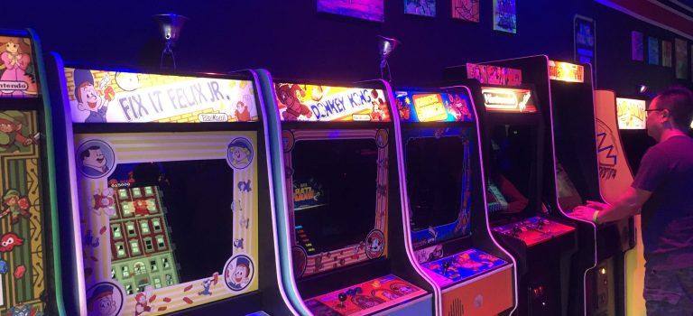 Video arcade machines at High Score, Alameda