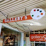 Gallery 9 storefront, Los Altos