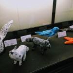 Animal sculptures from students of the Tierra Pacifica Charter School, Santa Cruz