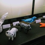 Animal sculptures from students of the Tierra Pacifica Charter School, Santa Cruz