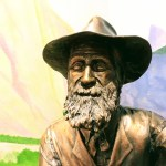 Bronze sculpture of John Muir, John Muir House, Martinez