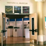 Entrance to the history museum, Cupertino.