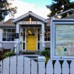 Bumble's front door, Los Altos.