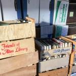 Friends of the Los Altos library book sale.