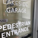 Entrance to 300 Lakeside Garage, Oakland.