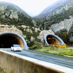 Exit of the south side tunnel at Devils Slide, Pacifica.