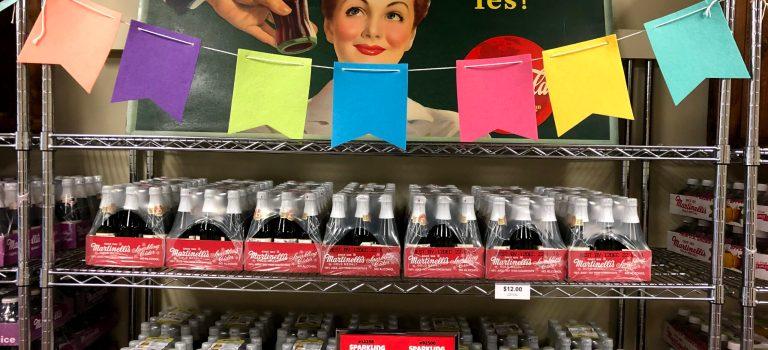 Bottles of sparkling cider, Watsonville.