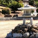 Japanese lantern at Memorial Park, Cupertino.