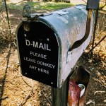 D-Mail, a mailbox for your donkey art.
