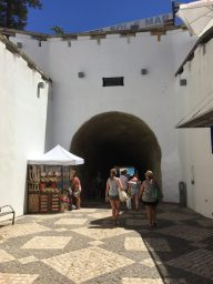 In Albufeira town