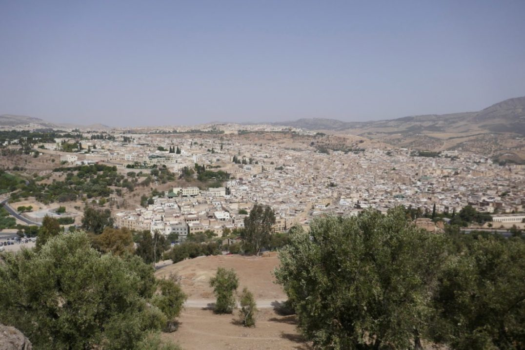 Fes from the old fort