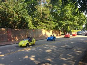 Cool mini cars on Belle View Road
