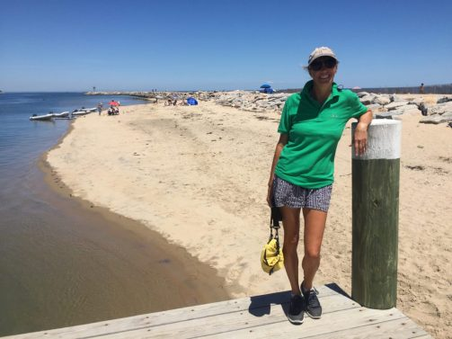 Down at the beach
