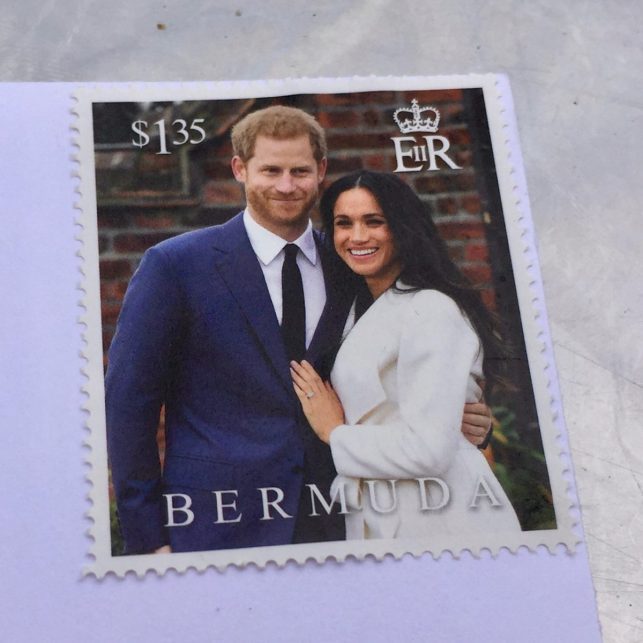Look who's on the stamps
