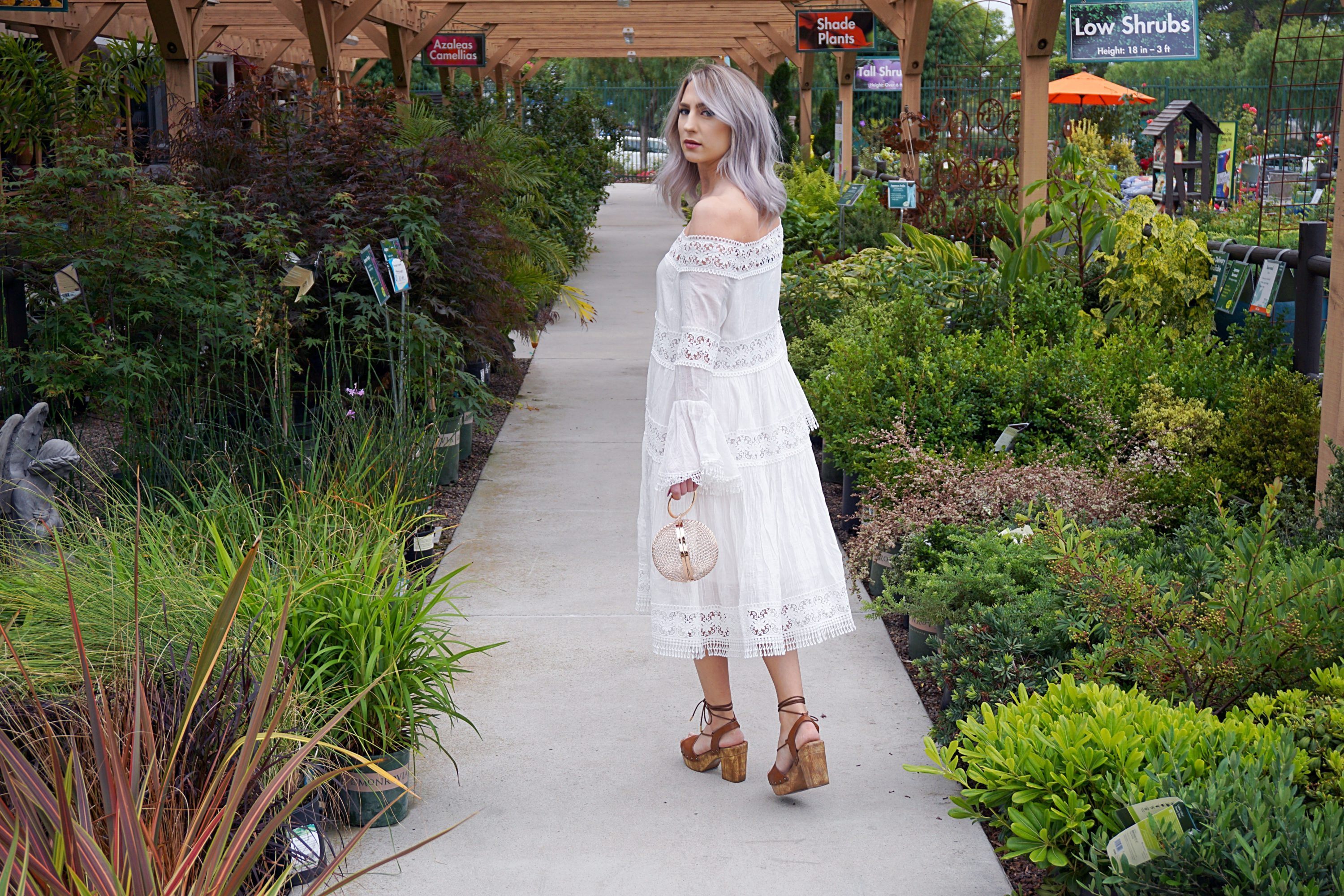 White Dresses & Platform Shoes | Until The Very Trend