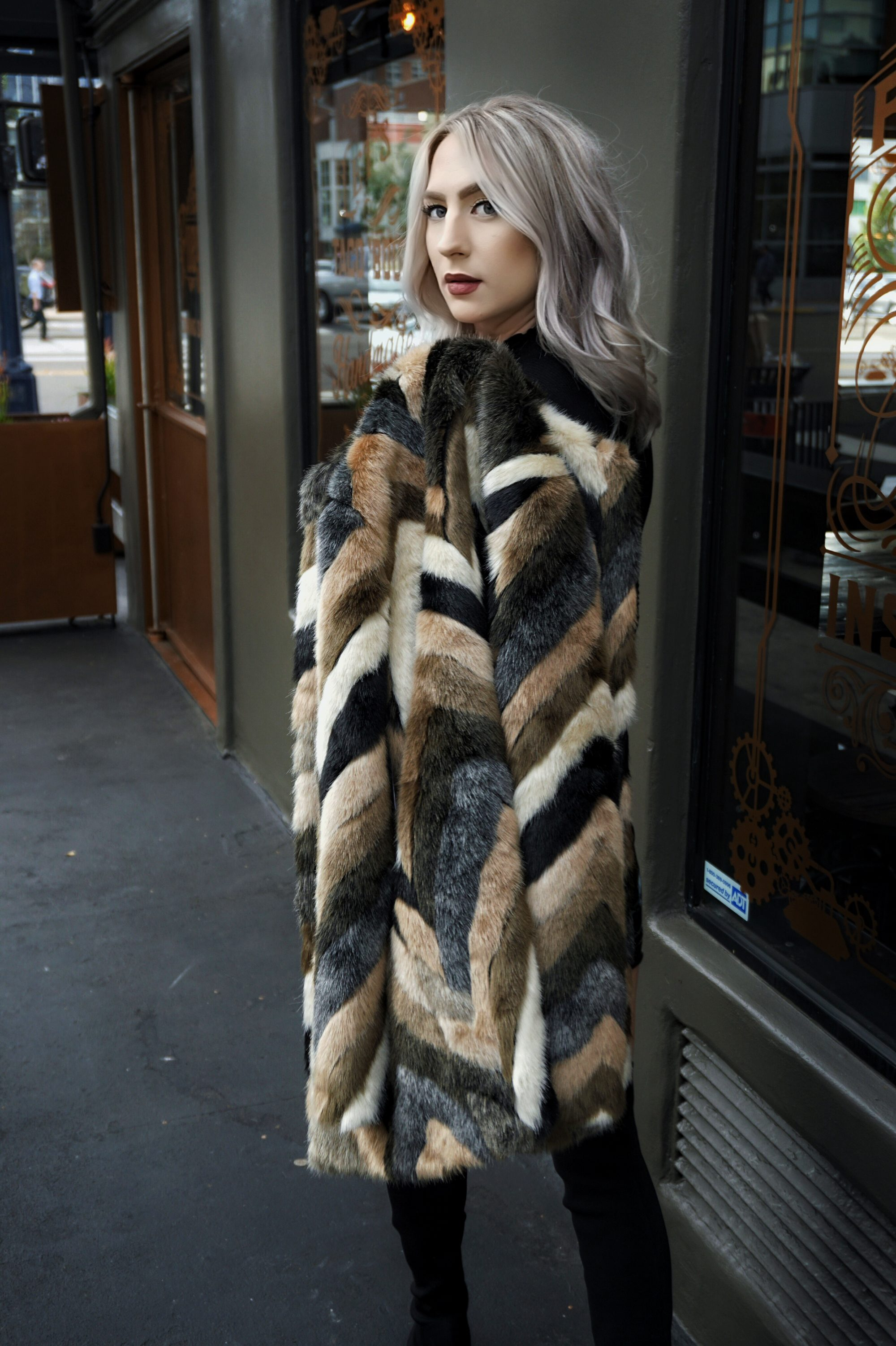 The Trendiest Fur Jackets For Winter   Until The Very Trend