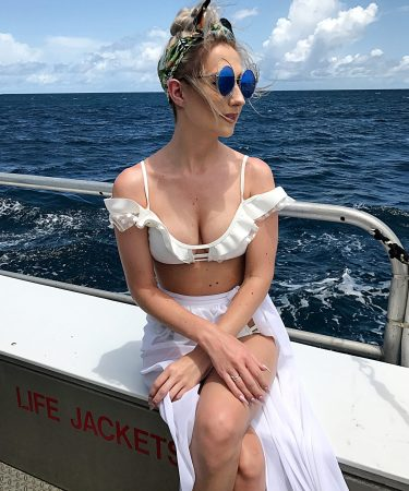 All White Swim & A Day in Barbados