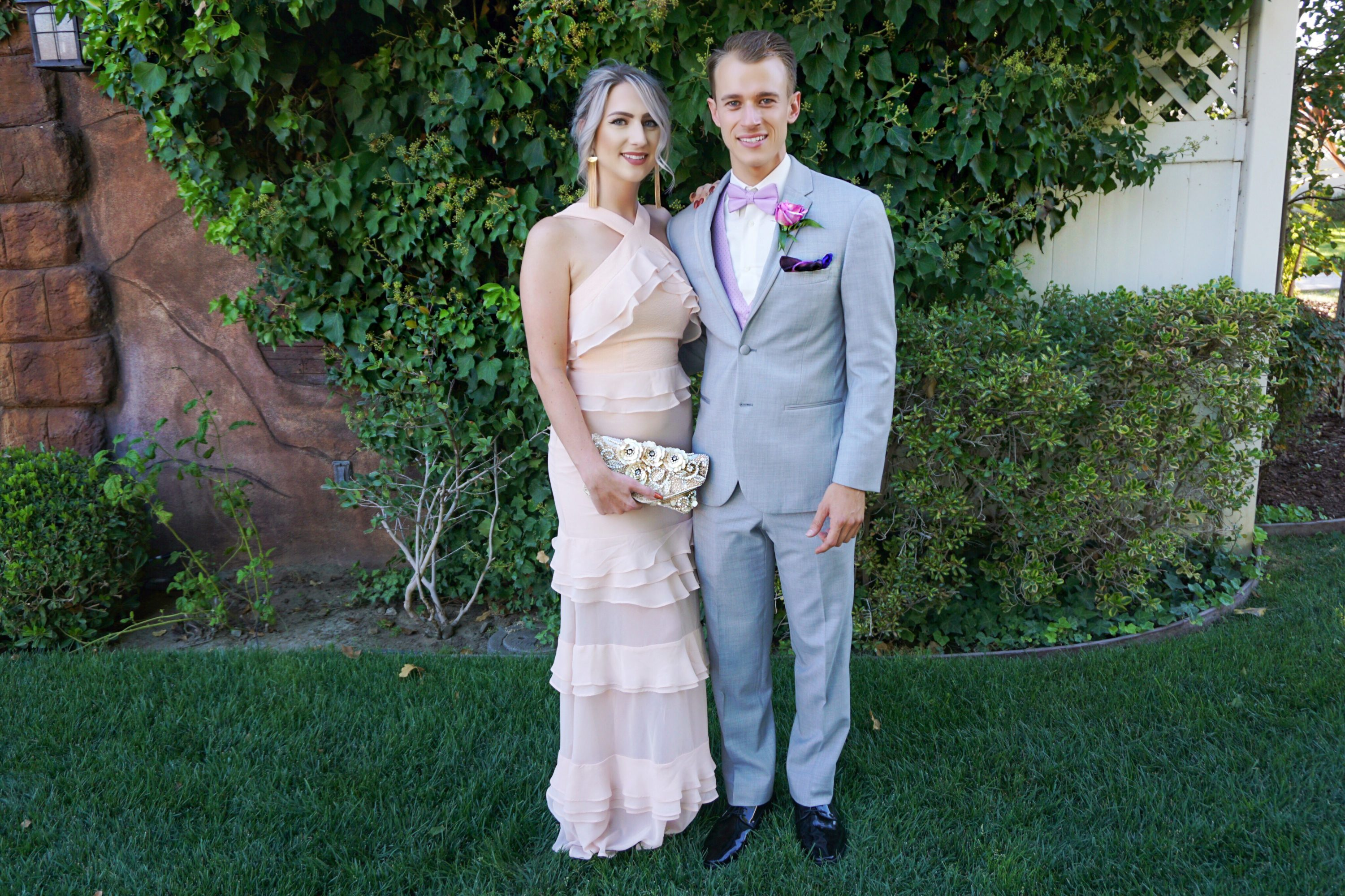 Black Tie Wedding Guest Dresses + Kyle's Big Day | Until The Very Trend