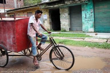 Red Bike Cart Jessore
