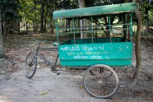 "Bangladeshi village school ""bus."""