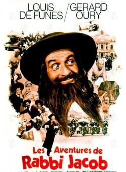 Les aventures de Rabbi Jacob 1973 real : Gerard Oury Louis De Funes Claude Giraud Miou Miou Suzy Delair COLLECTION CHRISTOPHEL