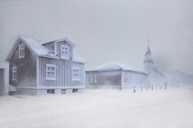 Village gelé © Christophe Jacrot