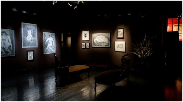 Vue Galerie Da End exposition Celine Guichard