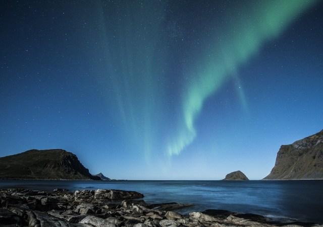 Une aurore boréale pour vous donner un peu d'inspiration dans votre quête du bonheur