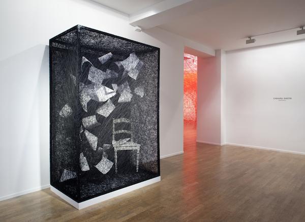 Exhibition view Destination, galerie Daniel Templon, Paris, 2017
