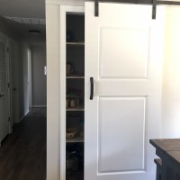 Remodel: Hall Closet Turned Pantry w/Barn-Door