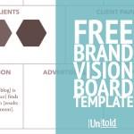 FREE Brand *Vision* Board Template