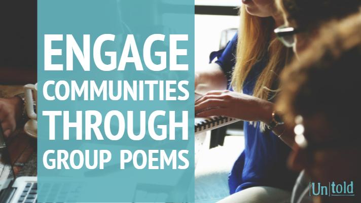 Group Poem Community Engagement