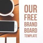 FREE Brand Board Template