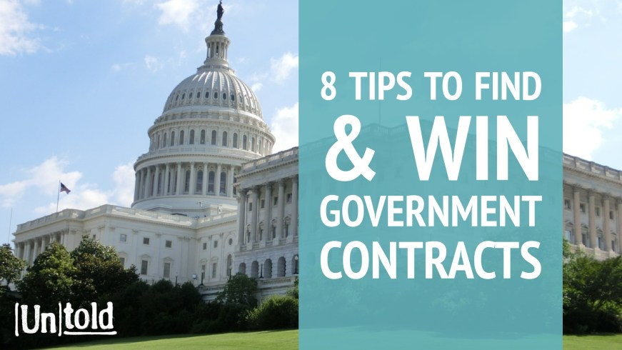 small business government contracting tips