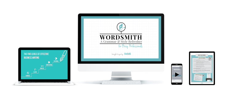 Wordsmith: An online writing course to improve grammar and style skills for busy professionals