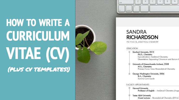 How to Write a CV + Word CV Templates