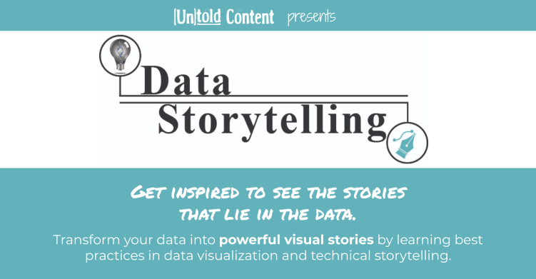 Data Storytelling Training Ad