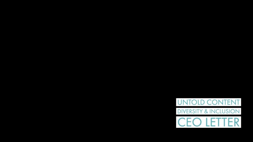 Untold Content CEO Letter Black Lives Matter