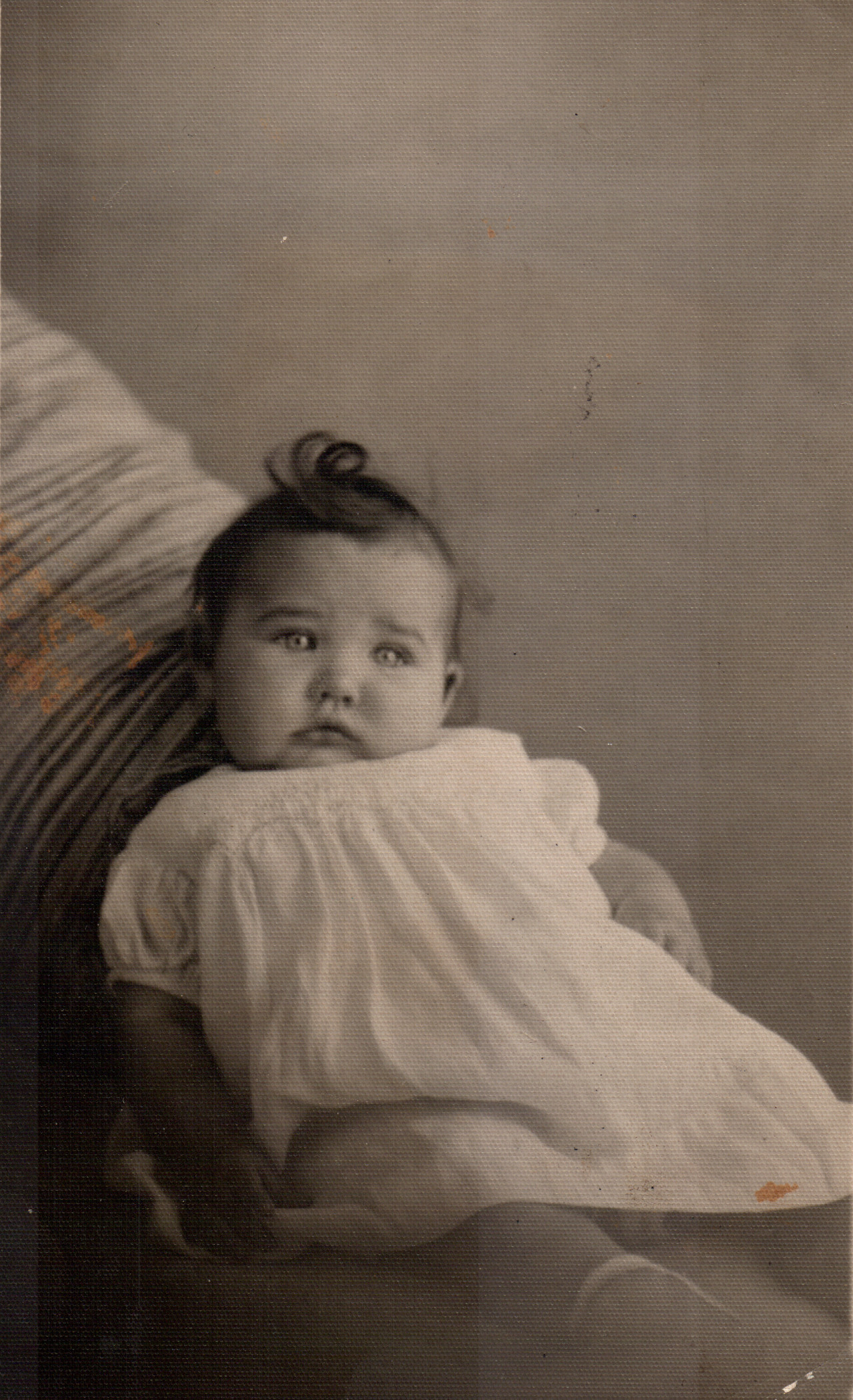 Shirley as a baby in 1934