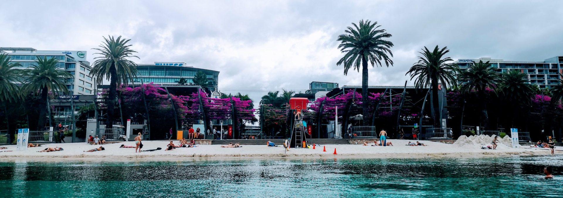 Brisbane beach park