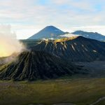 Bromo view at sunrise