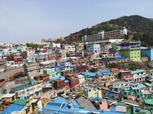 Busan art village, South Korea