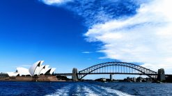 Sydney view of Opera and bridge